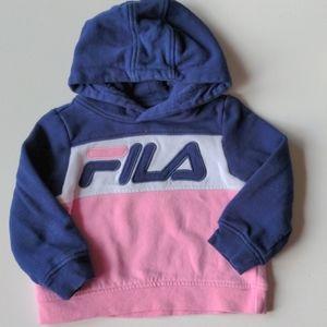 FILA Hoodie Sweatshirt * 2 Toddler